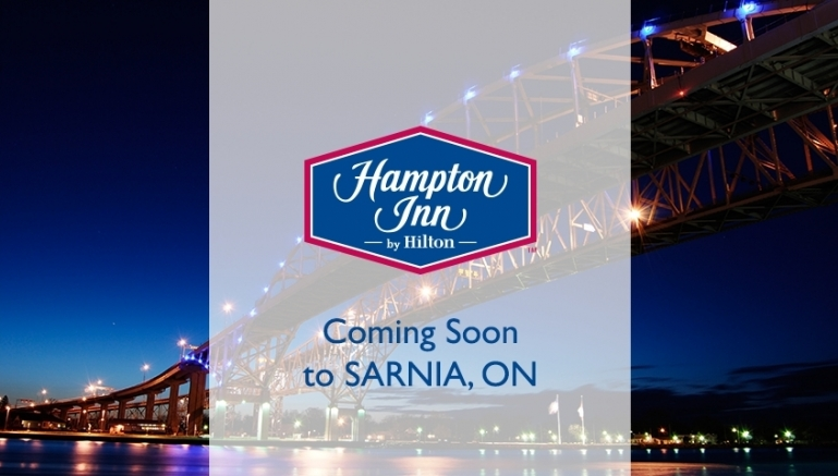 Construction Began On A New Hampton Inn By Hilton Hotel In Sarnia